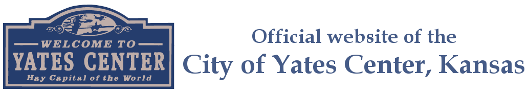 City of Yates Center - City of Yates Center